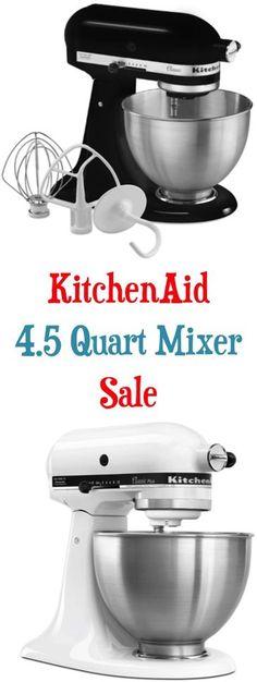 681 best Kitchenaid Mixers :))) images on Pinterest | Kitchen ... Kitchen Aid Mixer On Sale on christmas sale, sale sale, cookies sale, electronics sale,