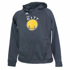 "Golden State Warriors adidas Women's Ultimate ""The City"" Hoodie - Grey"