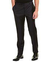 Canali - Wool Dress Pants in Navy Size 56 Merino Wool Sweater, Wool Sweaters, Wool Dress, Dress Pants, Taupe, Pajama Pants, Pajamas, Suits, Navy