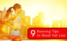 great tips to burn more fat when you're running. note to self: remember to try these!