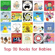 Top 20 Books for Babies. #bedtime #babies #baby