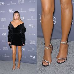 Poor Chrissy Teigen suffers from bunions, just like of women in developed countries! Thankfully, Calla shoes are specially designed for feet with bunions. Corn On Toe, Chrissy Teigen Model, Bunion Surgery, Knee Surgery, Iman Model, Rebecca Gayheart, Dame Helen, Michelle Yeoh, Victoria Beckham Style