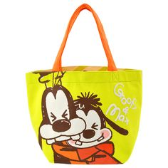 Introducing Disney's Tote Bag Goofy & Max baby. Official Disney Character Goods Store. Fashion, merchandise, toys, stationary and many other types of goods available. Also great for ordering presents and gifts online.