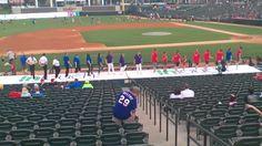Clogging at the ballpark