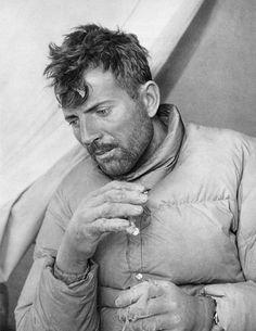 Retrato de Maurice Herzog, el escalador fallecido en 2012