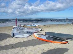 Świnoujście plaża - windsurfing #swinoujscie #windsurfing #sporty #wodne