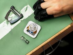 A limited edition MoonMachine 2 being assembled at the MB&F atelier. Swiss Watch Brands, Industrial, Watches, Luxury, Atelier, Wristwatches, Industrial Music, Clock