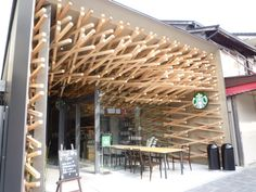 STARBUCKS at Kamakura Japan