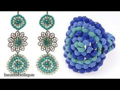 Video: How to Do Circular Brick Stitch Bead Weaving - this is used to start brick stitch stars. ~ Seed Bead Tutorials