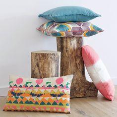 Capa de almofada, dip-dye, tonin La Redoute Interieurs | La Redoute