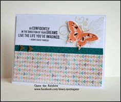 A Thing Well Done stamp set -