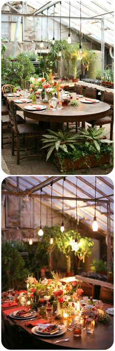 beautiful table during day and evening