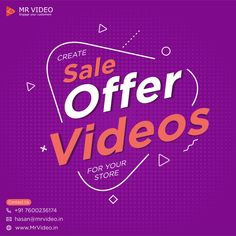 Attract a Larger Numbers of Buyers for Your Store Through Video Marketing By Creating Sale Offer Videos. - Contact us for your videos at hasan - # Marketing Videos, Social Media Marketing Agency, Motion Video, You Videos, Larger, Numbers, Store, Tent, Numeracy