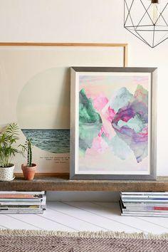 Caroline Krzykowiak Iridescence Art Print - Urban Outfitters