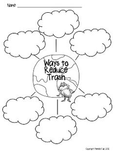 The LoraxInspired Earth Day Coloring Page Lorax Earth and School