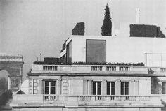 Le Corbusier -- Carlos de Beistegui's apartment at Champs Élysées, Paris, 1930