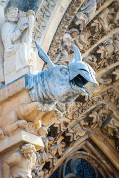 Reims Cathedral, France.