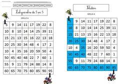 CP-CE1 : Labynombres de 5 en 5 série 1 | BLOG de Monsieur Mathieu NDL Therapy Activities, Math Activities, Teaching Math, Teaching Resources, Montessori Math, Math 2, Math Projects, E Mc2, Math Numbers