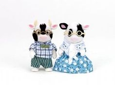 Friesian Cow Grandparents - Sylvanian Families