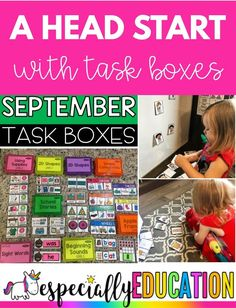 Task boxes help your