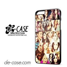 Demi Lovato Collage DEAL-3148 Apple Phonecase Cover For Iphone 6/ 6S Plus