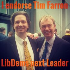 Michael Beckett supports Tim Farron for next Leader if the Liberal Democrats. The LibDems need to show how they can help people, up and down the United Kingdom in their everyday lives and I think Tim is the one to achieve this, therefore I back Tim to Lead!  Check out: Tim2Lead.com  Tags: #Timion #Tim #Farron #TimFarron #Tim2Lead #time4tim #LibDems #Liberal #Lib #Dem #Democrats #Democrat #Cllr #councillor #ALDC #ALDE #MP #Member #Parliamentarian #UK #United #Kingdom