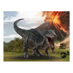 Jurassic World Baryonyx Postcard , Jurassic World Movie, Jurassic World Dinosaurs, Jurassic World Fallen Kingdom, Prehistoric Dinosaurs, World Movies, Falling Kingdoms, Tonne, Custom Posters, T Rex