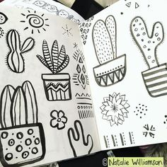 Inking the morning away... #artlicensing #illustration #inkandpaper #cacti #succulents #surfacedesign #stationerydesign #stationerydesigner