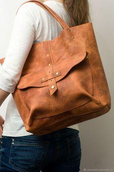 Jukova Julia bags pumpkin halloween fox tote Купить Сумка тоут из натуральной кожи рыжая тыква коричневая винтажная ретро в интернет магазине на Ярмарке Мастеров