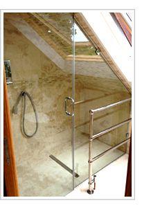 Frameless Shower Screens, Frameless Shower Enclosures, Quadrant Enclosures, Bath Screens, Made-to-measure UK