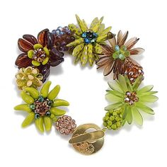 DIY Beaded Bead Bracelet Kit, Jewelry Making, Key Lime by 1beadweaver on Etsy https://www.etsy.com/listing/240837958/diy-beaded-bead-bracelet-kit-jewelry