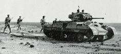 Valentine tank of 50 RTR supporting infantry (as it was designed to do) near the Mareth Line in early The Axis forces in North Africa were now hard pressed between Army advancing from the East and Army from the West. World Warfare, Afrika Corps, Ww2 Tanks, Armored Vehicles, War Machine, North Africa, World War Two, Great Britain, Wwii