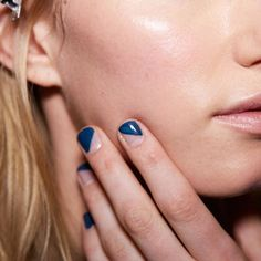 NYFW fall 2014 runway Essie nails