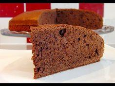 Bizcocho Cuatro Cuartos con Chocolate   Receta de Bizcocho por Azúcar con Amor