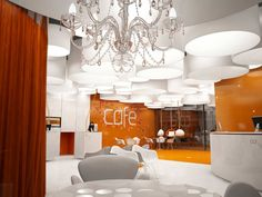 OFFICE INTERIOR DESIGN CAFE