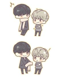 Chanyeol and Baekhyun.  Yeolie and Baeky.  ChanBaek. BaekYeol.