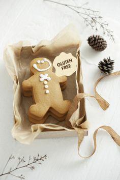 Gluten and allergen free Gingerbreadmen! dairyfree eggfree