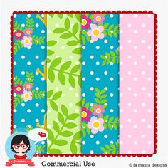 Template Paper Maker 7 - 2014 by Fa Maura