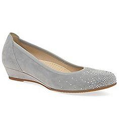 Light grey 'arya' womens casual shoes