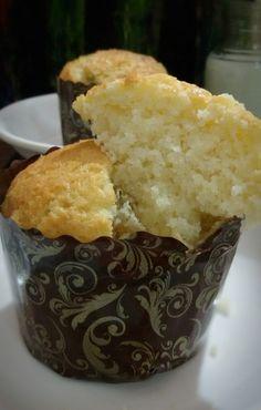 Hot Milk Muffin (Old Fashioned Vanilla Muffin)