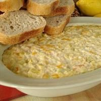 Dungeness Crab and Artichoke Dip with Crostini