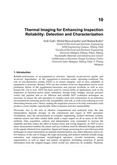 Pdf) Thermal Imaging For Enhancing Inspection Reliability pertaining to Thermal Imaging Report Template Thermal Imaging, Electronic Engineering, Report Template, Understanding Yourself, Make It Simple, Pdf, Business Professional, Templates, Creative