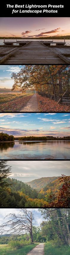 The Best Lightroom Presets for Landscape Photography. Landscape Legend is a comprehensive suite of more than 190 presets created specifically for processing landscape photos quickly and effectively.