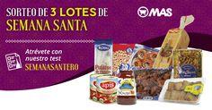 Sorteo de 3 lotes de #SemanaSanta con @Supermecadomas! Atrévete con nuestro test SemanaSantero