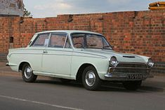 The Ford Cortina. My first car (or one like this)!