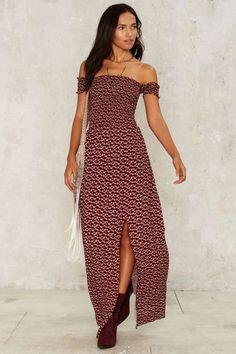 Camille Off-the-Shoulder Dress