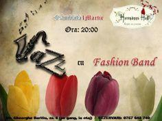Hermanns Hof Brasov - Restaurant & Cafe impreuna cu Fashion Band va ofera in aceasta seara un martisor muzical, special pentru toate doamne si domnisoarele :)  Va asteptam cu drag!