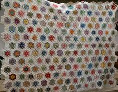 hexagon patchwork project - Google Search
