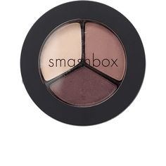 Smashbox Photo Op Eye Shadow Trio ($28) ❤ liked on Polyvore featuring beauty products, makeup, eye makeup, eyeshadow, beauty, fillers, smashbox eye shadow, smashbox, smashbox eyeshadow and smashbox eye makeup