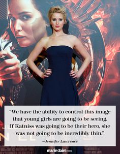 8 Times Jennifer Lawrence Was Spot On If Katniss was going to be their hero, she was not going to be incredibly thin Hunger Games Cast, Hunger Games Fandom, Hunger Games Humor, Marie Claire, Jennifer Laurence, Catching Fire, Life Humor, Best Actress, Woman Quotes